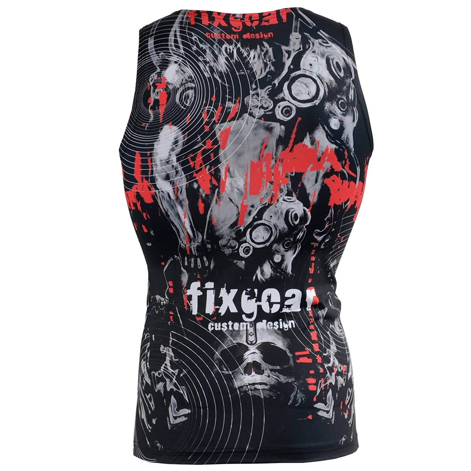 FIXGEAR Compression Baselayer MMA Short Sleeveless Shirt
