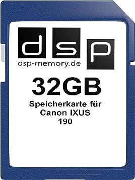 Dsp Memory 32gb Speicherkarte Für Canon Ixus 190 Computer Zubehör