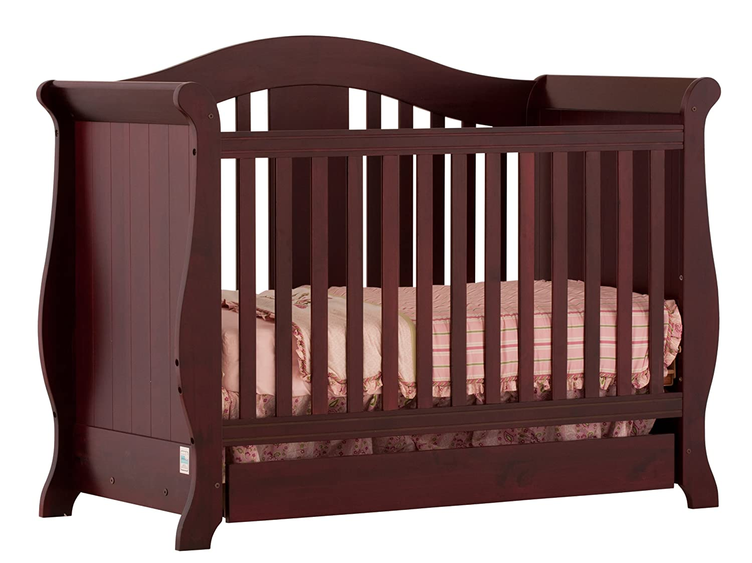 convertible changer in alert storkcraft bradford table crib changing deal and shop espresso
