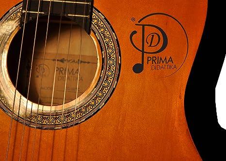 Prima didattika CG 08 4/4 Guitarra clásica Natural Tone 2: Amazon ...