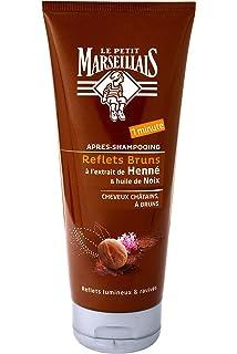 le petit marseillais aprs shampooing reflets cheveux chtains bruns lot de 2 - Shampoing Colorant Temporaire