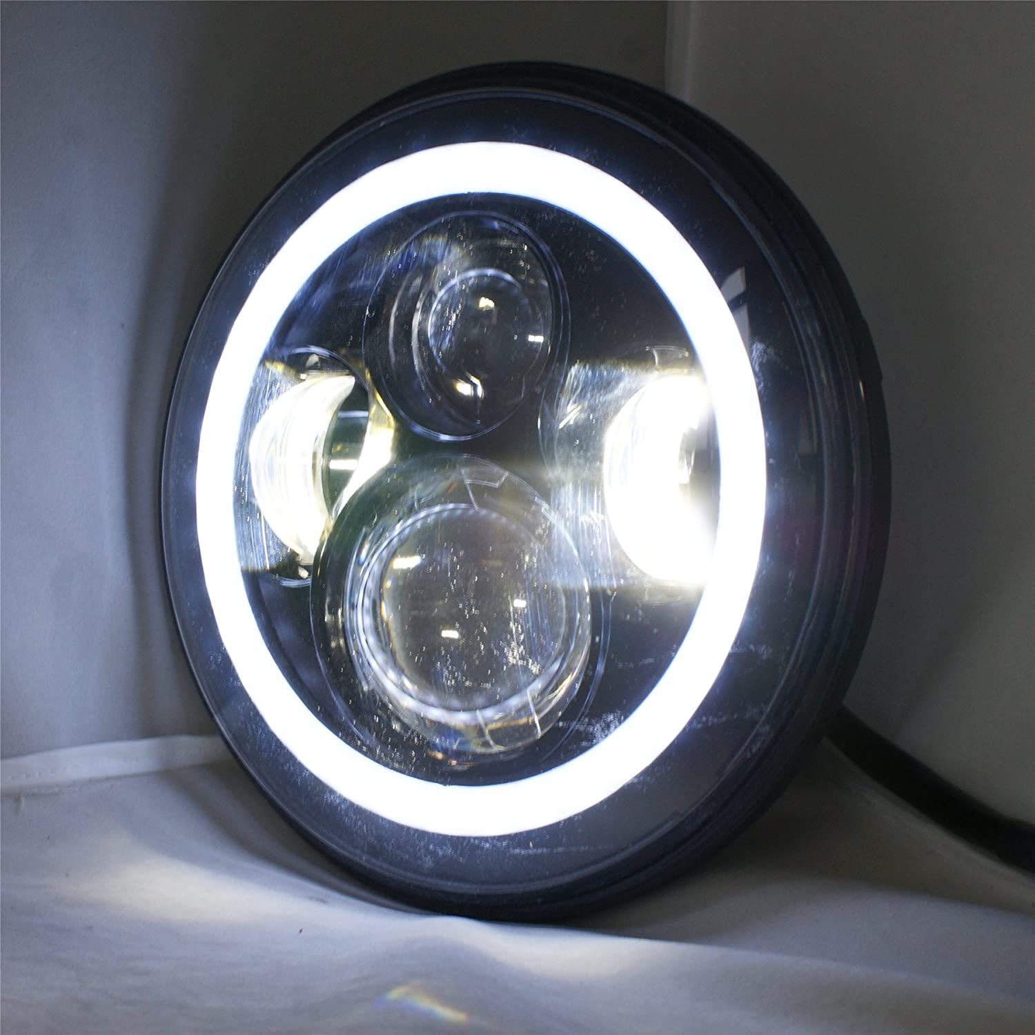 7 u0026quot  inch round led headlights bulb for western star
