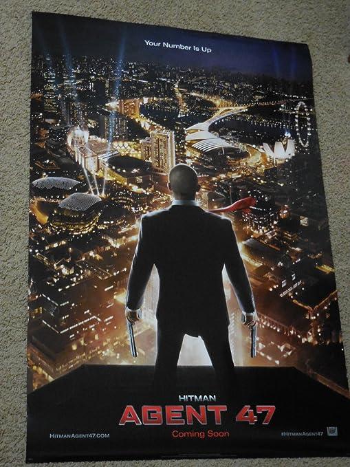 Amazon Com Hitman Agent 47 27x40 Original D S Movie Poster