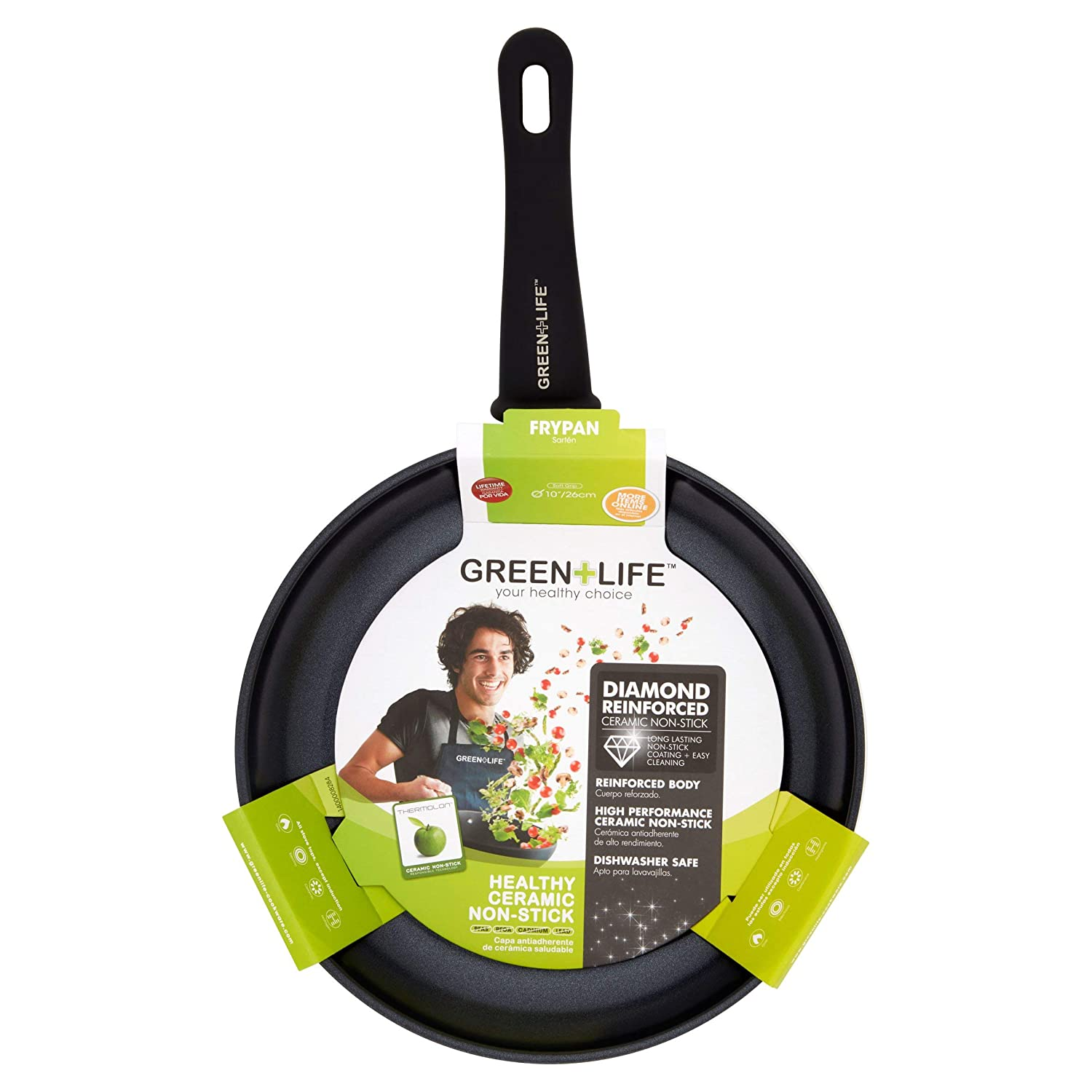 Amazon.com: GreenLife Diamond Ceramic Non-Stick 10