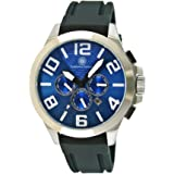 Constantin Durmont men's Automatic Watch Analogue Display and Rubber Strap CD-HAL2-AT-RBSTSTBL