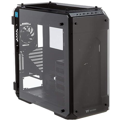 Thermaltake View 71 TG Caja RGB de PC con Cuatro Ventiladores Color Negro