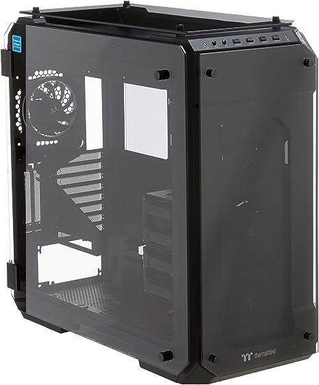 Thermaltake View 71 TG - Caja RGB de PC con Cuatro Ventiladores, Color Negro: Amazon.es: Informática