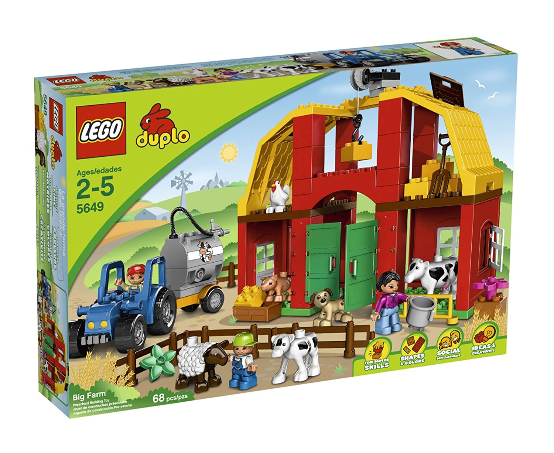 Amazon Lego Duplo Legoville Big Farm 5649 Toys Games