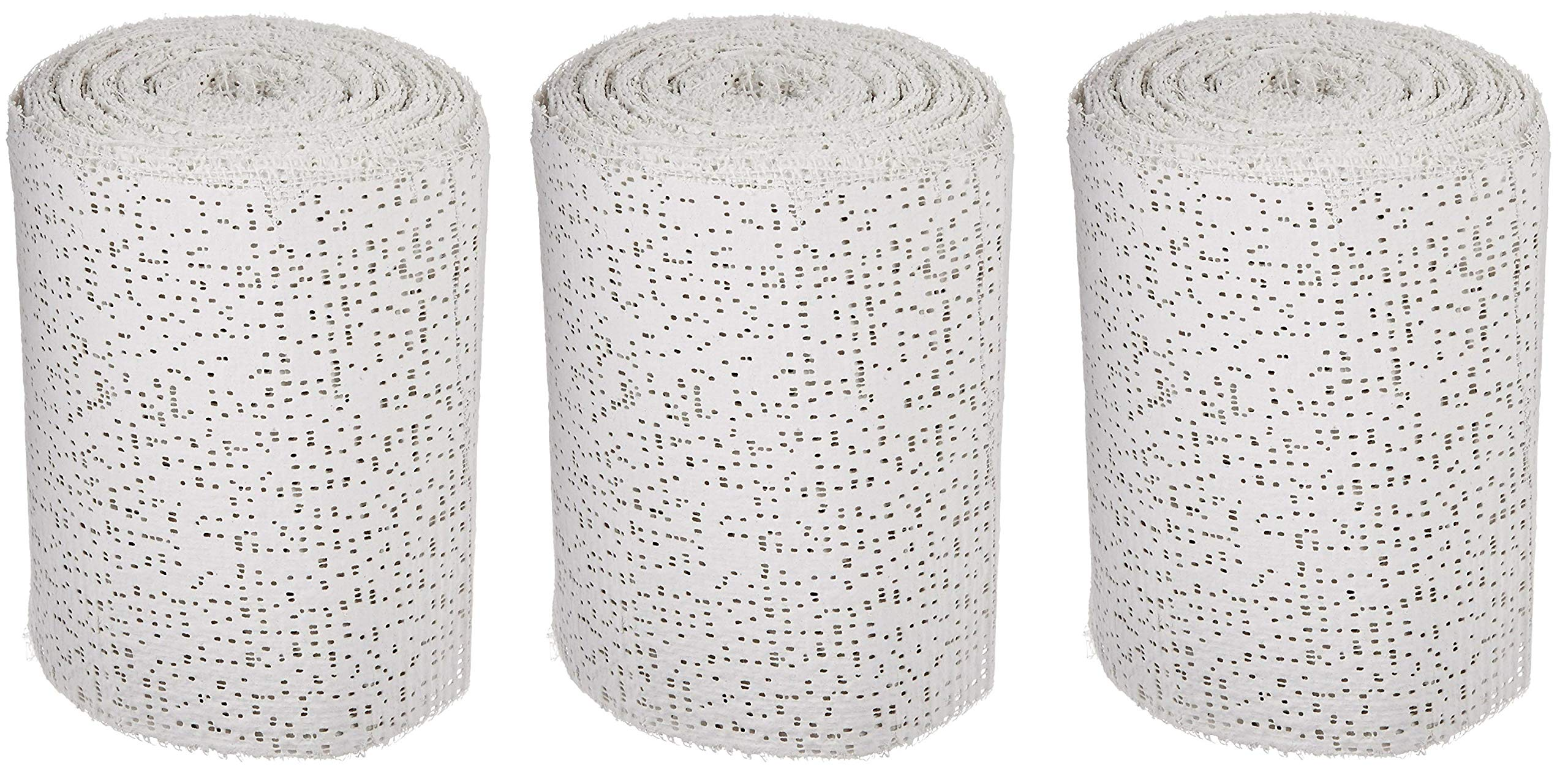 Sax Professional Plaster Wrap Roll, 4 Inch x 180 Feet, White, 20 Rolls (Pack of 3)