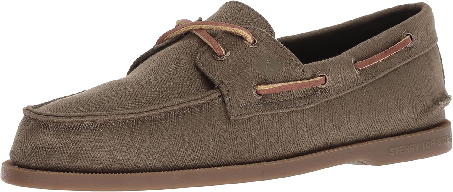 Sperry Men's A O 2-Eye Plush Boat Varsity Inexpensive Shoe Max 52% OFF