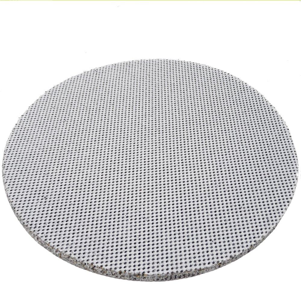 SBS Velcro Malla abrasiva para Lijadora cuello largo 25 Piezas /ø225 mm Grano 180