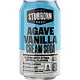 STUBBORN Agave Vanilla Cream Soda, 12 Count