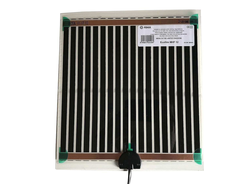Fenix 6651860 Spiegelheizung/Heizfolie MHF-25, verhindert das Beschlagen von Spiegeln, selbstklebende Beschichtung fü r eine schnelle und einfache Montage, niedrige Temperaturen, 274 x 574 mm Limmer