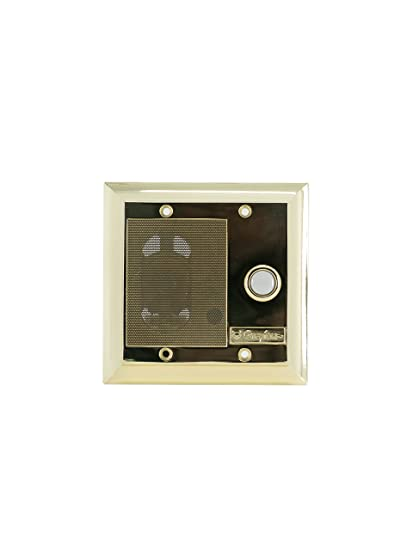 Legrand - On-Q F7596SB Intercom Door Unit, Weather Resistant, Shiny on