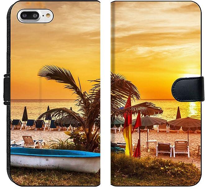 Amazon Com Apple Iphone 7 Plus And Iphone 8 Plus Flip Fabric Wallet