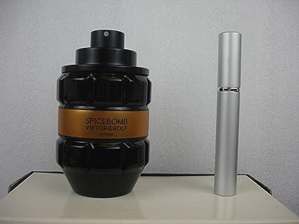 Spicebomb Extreme Viktor & Rolf 0 16 oz 5 ml EDT Spray Glass