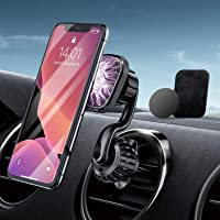 [2021 Upgraded] Magnetic Car Phone Holder, JIOKIA Air Vent Phone holder for car [6 Strong Magnets] Car Phone Mount…