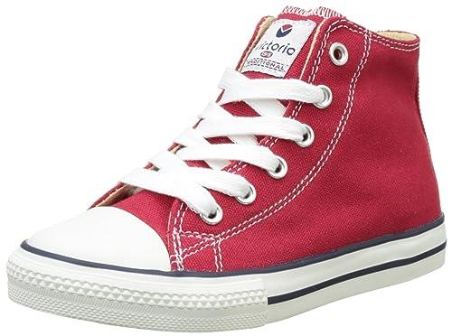 Victoria Botin Basket Autoclave, Zapatillas Altas Unisex niños: Amazon.es: Zapatos y complementos