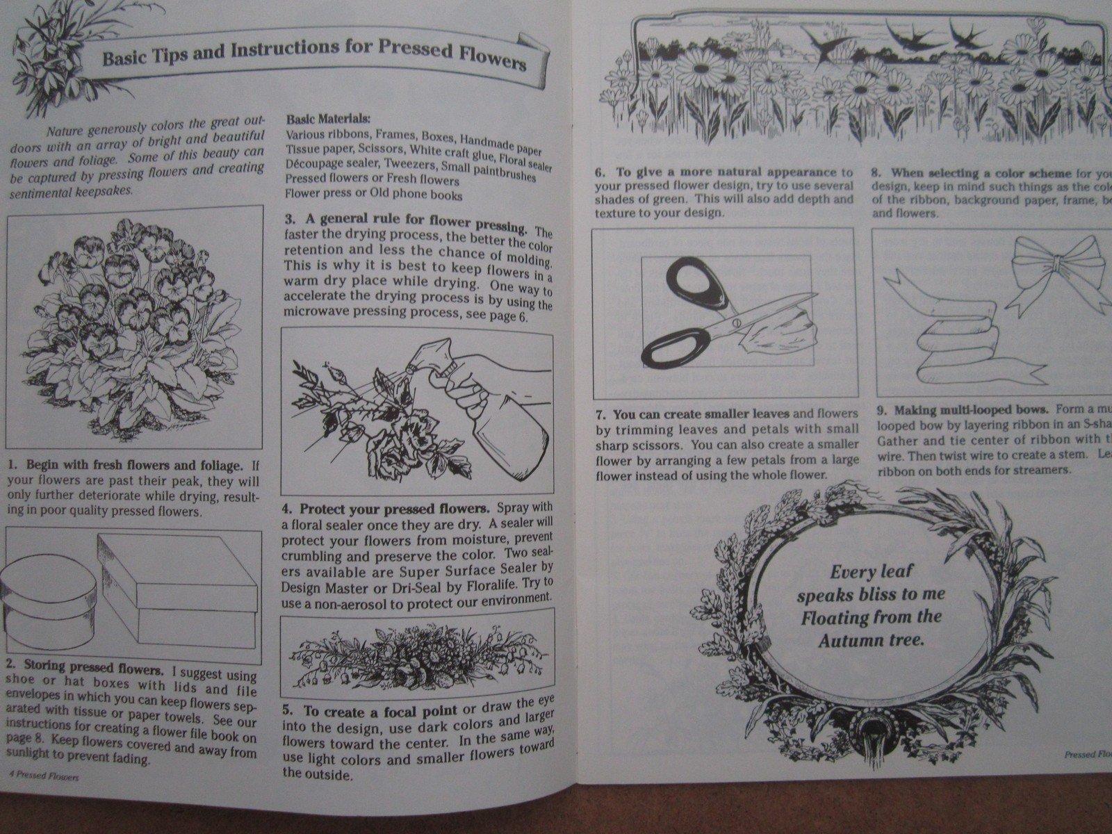 Pressed Flowers No 3059 Indrani Hawkins Amazon Books