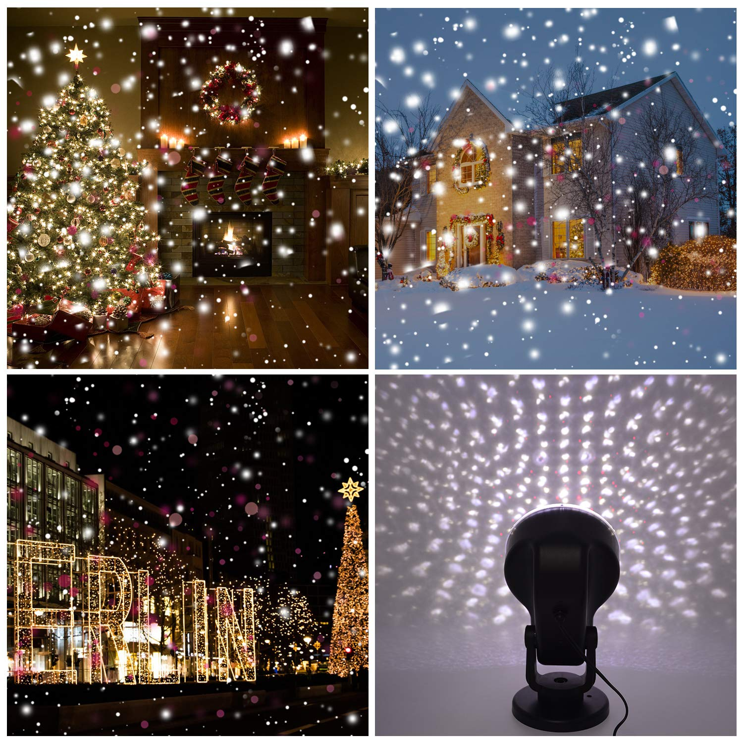Amazon Yocuby Snowfall Laser Projector Lights Outdoor Red