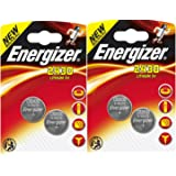 4 X Energizer CR2430 3V Lithium Coin Cell Batteries by Energizer