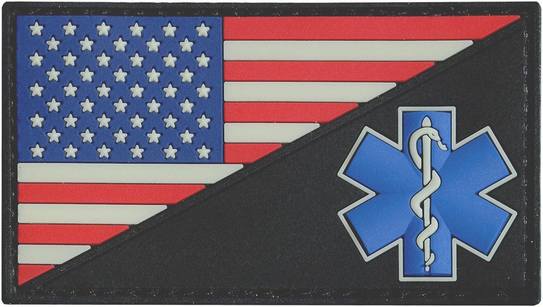 Yaxinduobao Nackenw/ärmer American Flag EMS Star of Life EMT Paramedic Medic Elastic Microfiber Neck Warmer for Men and Women