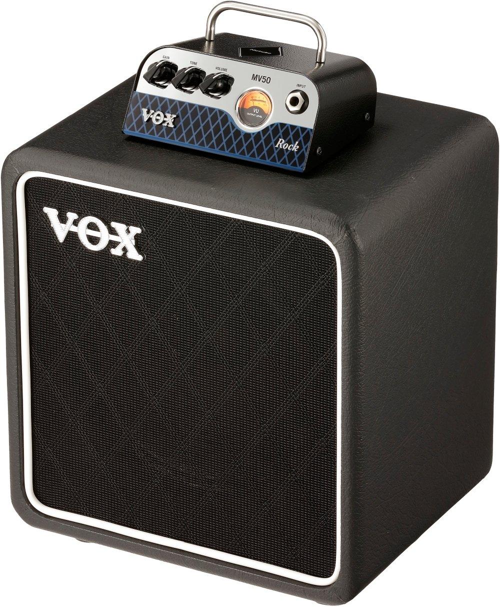 Vox MV50 Rock Set 50-watt Hybrid Tube Head with 1x8'' Cabinet