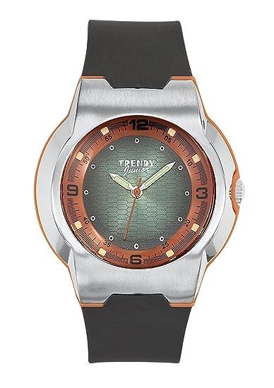 Trendy Junior KL 252 - Reloj analógico de cuarzo para niño, correa de plástico color