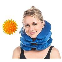 Cervical Neck Traction, Neck Brace, Instant Neck Shoulder Pain Relief at Home, Adjustable...