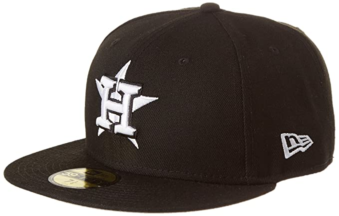 New Era League Basic Fit2 Houast Blk Gorra, Hombre, Negro, M ...