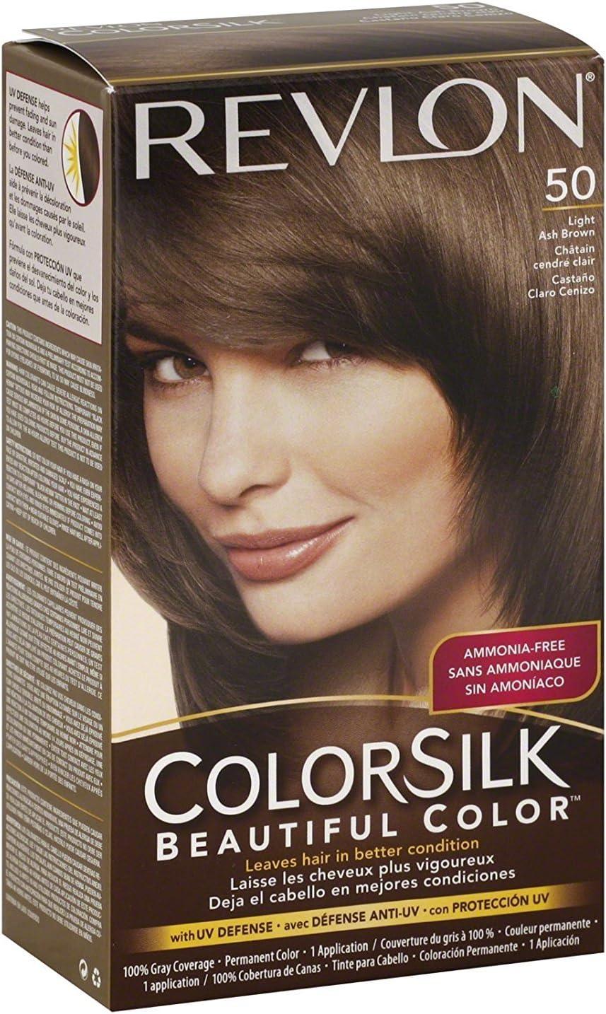 Colorsilk By Revlon, Haircolor: Light Ash Brown ? 1ea: Amazon ...