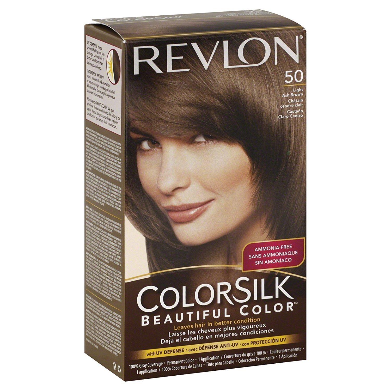 Amazon Rev Colorsilk 5a Ltashbrn Size 1ct Revlon Colorsilk 5a