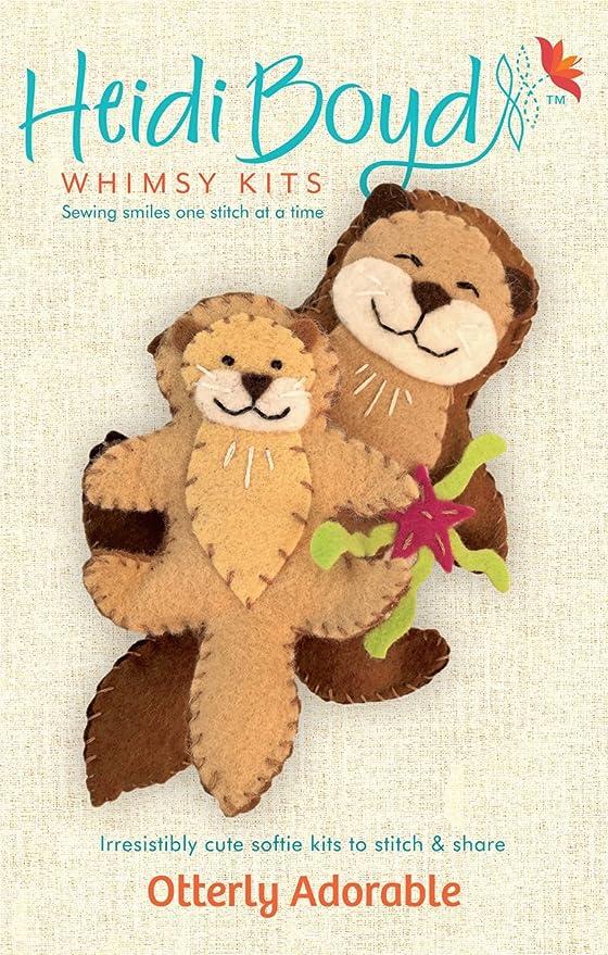 Heidi Boyd - Kit de costura de fieltro para niños de más de 13 ...