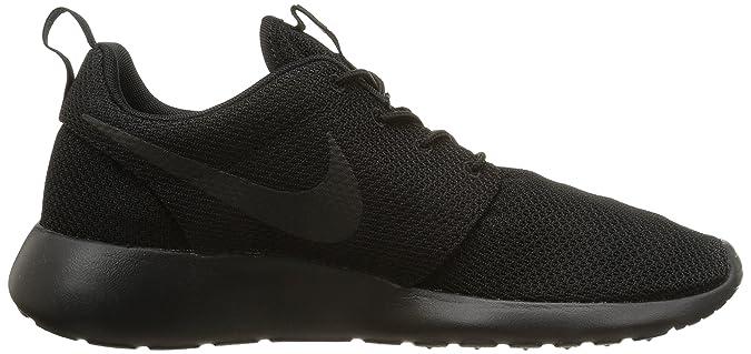 Amazon.com | NIKE Mens Roshe One Black/Black Running Shoe 6.5 Men US | Running