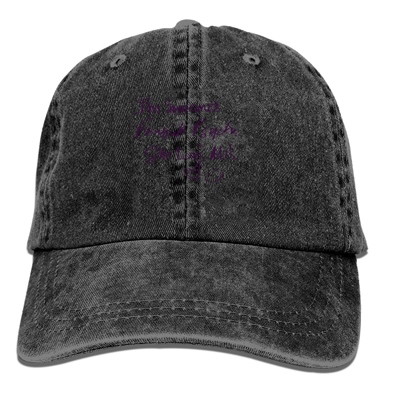QIPNVY Baseball Cap-Favorite Psycho for Him Cowboy Hats for Mens Women Dad ee38c87addf