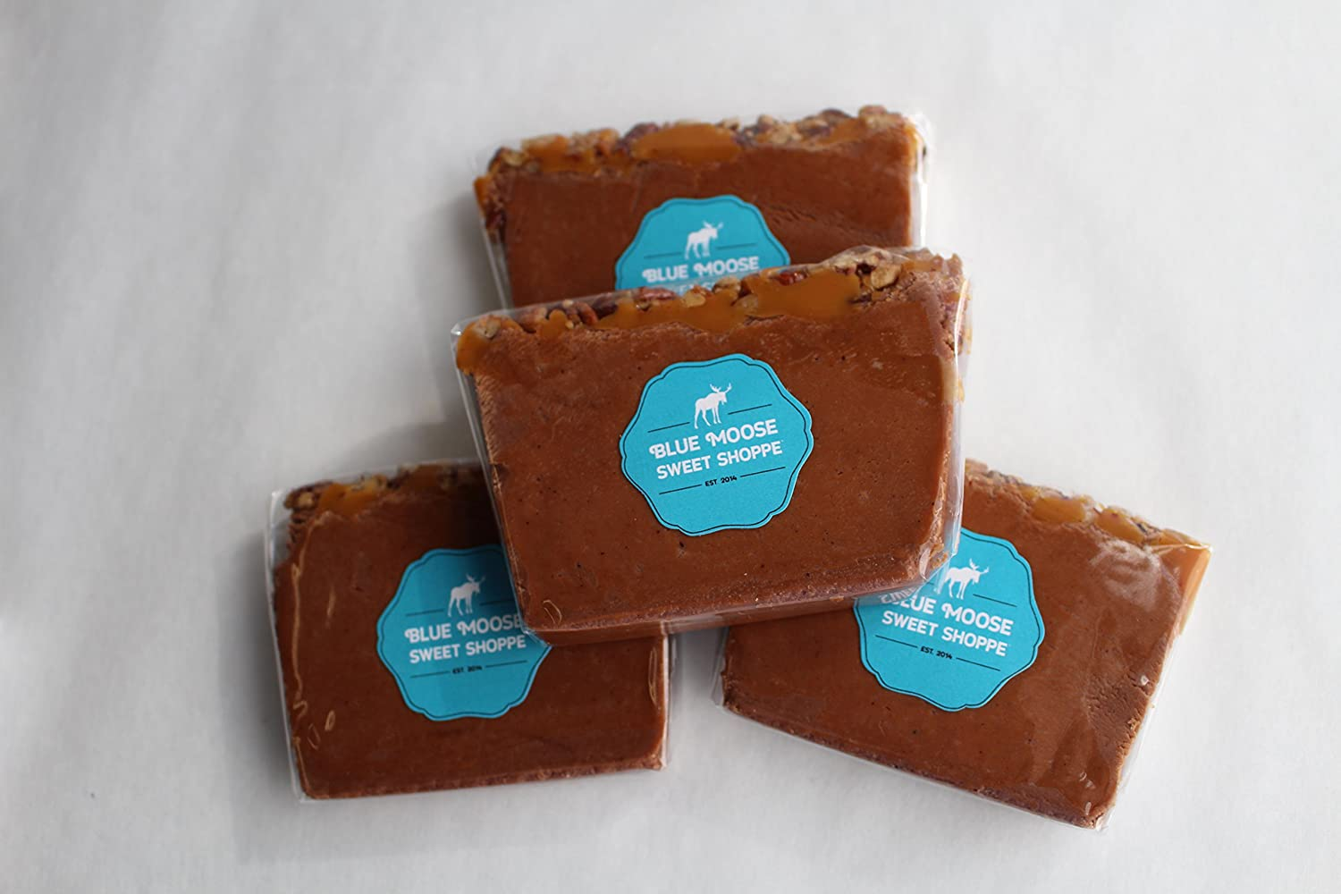 Amazon.com : Pecan Turtle 1 LB   Gourmet Fudge   The Best Copper-Kettle Fudge   Desserts and Candy   Holiday Gifts 1 LB : Grocery & Gourmet Food