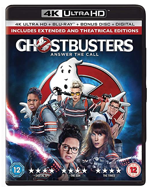 Amazon in: Buy Ghostbusters: Answer the Call (4K UHD + Blu-ray +