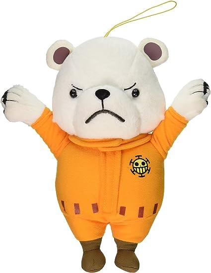 "1x Sealed One Piece E-52551 Stuffed Plush 9/"" Bepo Polar Bear Great Eastern"