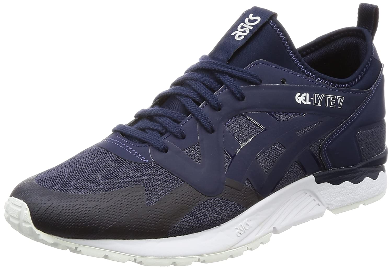 sports shoes c1f59 1b4c4 Amazon.com: Asics Gel-Lyte V Mens Sneakers Blue: Clothing