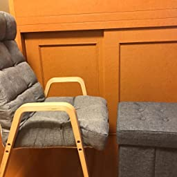 Amazon Co Jp アイリスオーヤマ スツール クッション付収納ボックス 座れる 折りたたみ グレー Sst 38 ホーム キッチン