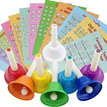 Mancuernas musicales para niños, adultos, personas mayores, 8 ...