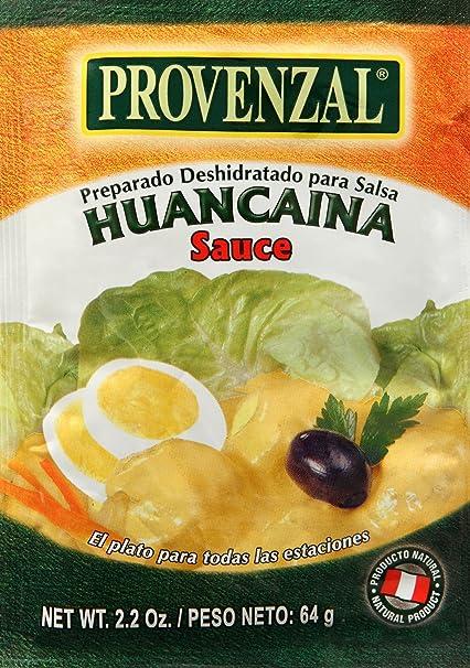 Salsa Huancaína Provenzal Sobre para preparar