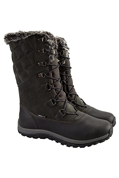 00cd2da0a51 Mountain Warehouse Vostock Womens Snow Boots - Ladies Winter Shoes ...