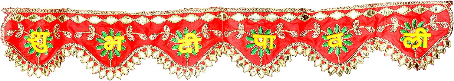 Proficient Enterprises Traditional Happy Diwali Banner, Diwali Decoration,Shubh Deepawali Door Valance/Toran,Indian Festival of Decor, Hindu Festival, Laxmi Puja
