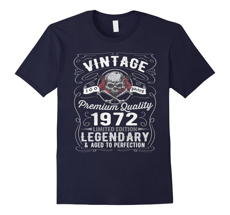 44th Birthday Gifts For Men Women-Vintage 1972 Shirt Design-CL