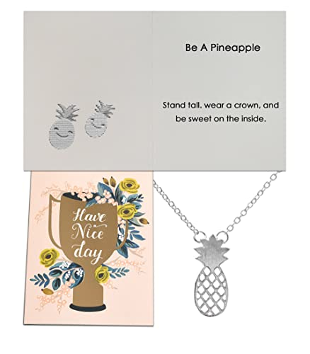 Amazon Chaomingzhen Pineapple Pendant Necklace Girls Be A