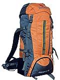 Gleam 2209 Climate Proof Mountain Trekking & Rucksack Backback 75Litres Orange & Grey with Rain Cover