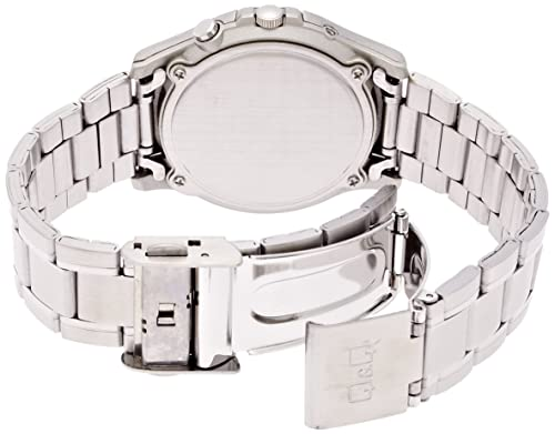 [シチズン キューアンドキュー]CITIZEN Q&Q 腕時計 SOLARMATE (ソーラーメイト) 電波ソーラー アナログ表示 5気圧防水 ブラック HG00-205 メンズ