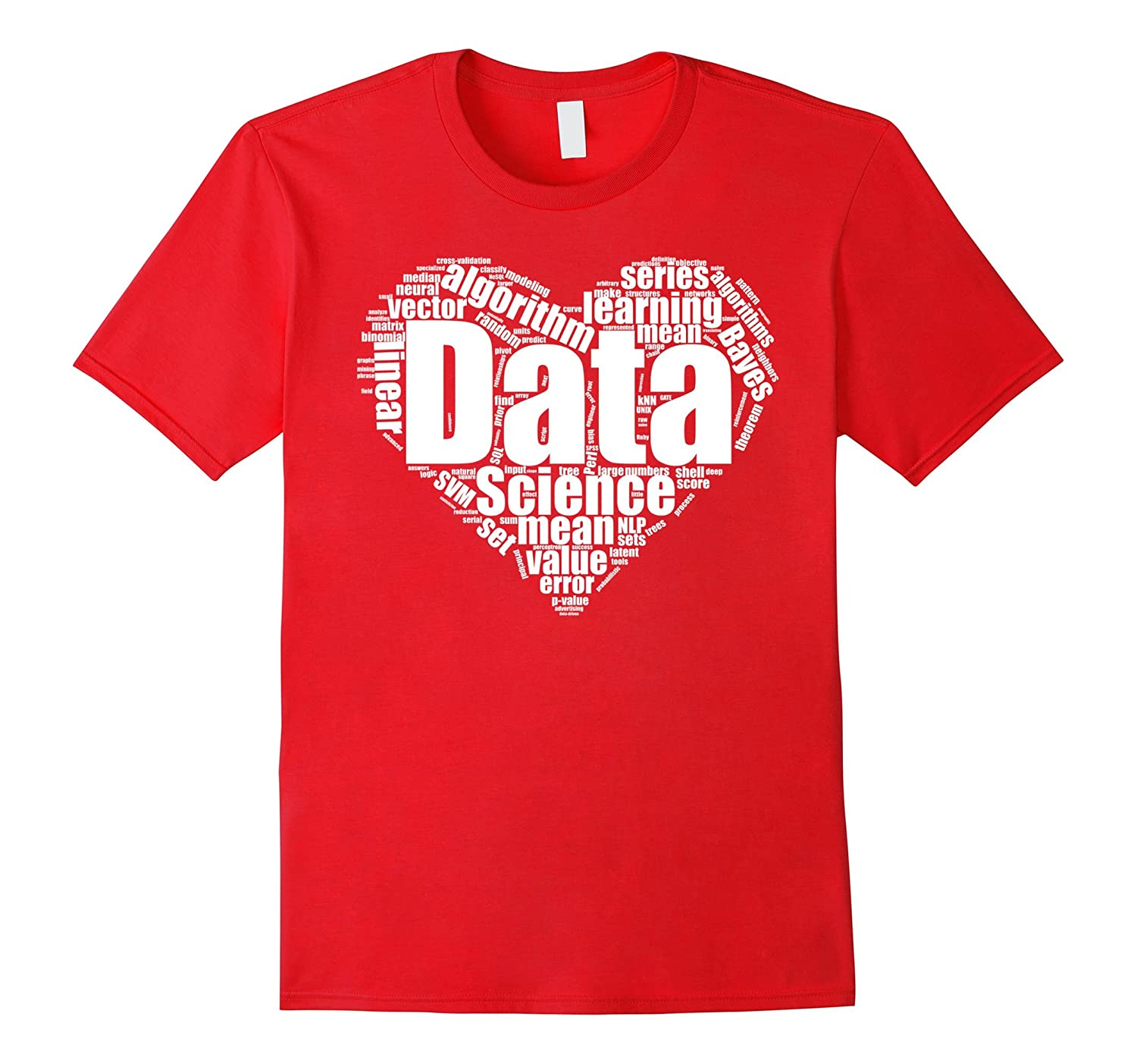 Data Science Love : Shirts for Data Scientists-Art