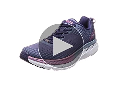HOKA ONE ONE Womens Clifton 5 Running Shoe (5, Alloy/Metal): Amazon.es: Zapatos y complementos